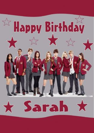 Personalised House of Anubis Birthday Card